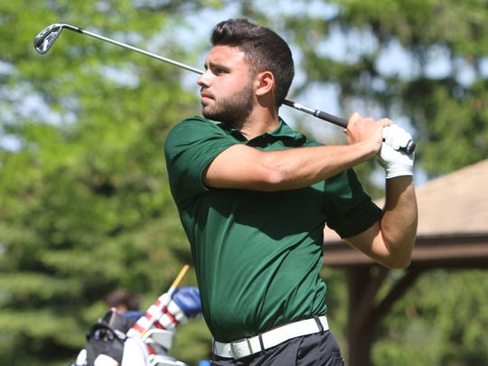Niko Hatz shot a 75 to lead Novi in the May 24 KLAA Tournament at Salem Hills G.C.