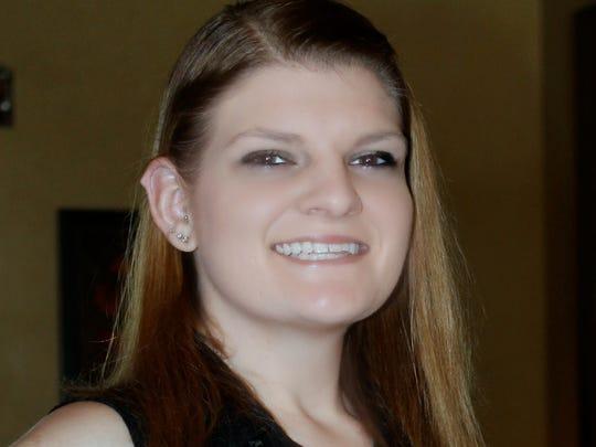Kirstyn Bielawa, scholarship recipient.