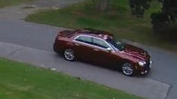 Sudbury police are trying to identify the person who may have been driving this car on Thursday. They said the person is responsible for stealing packages left at people's houses.