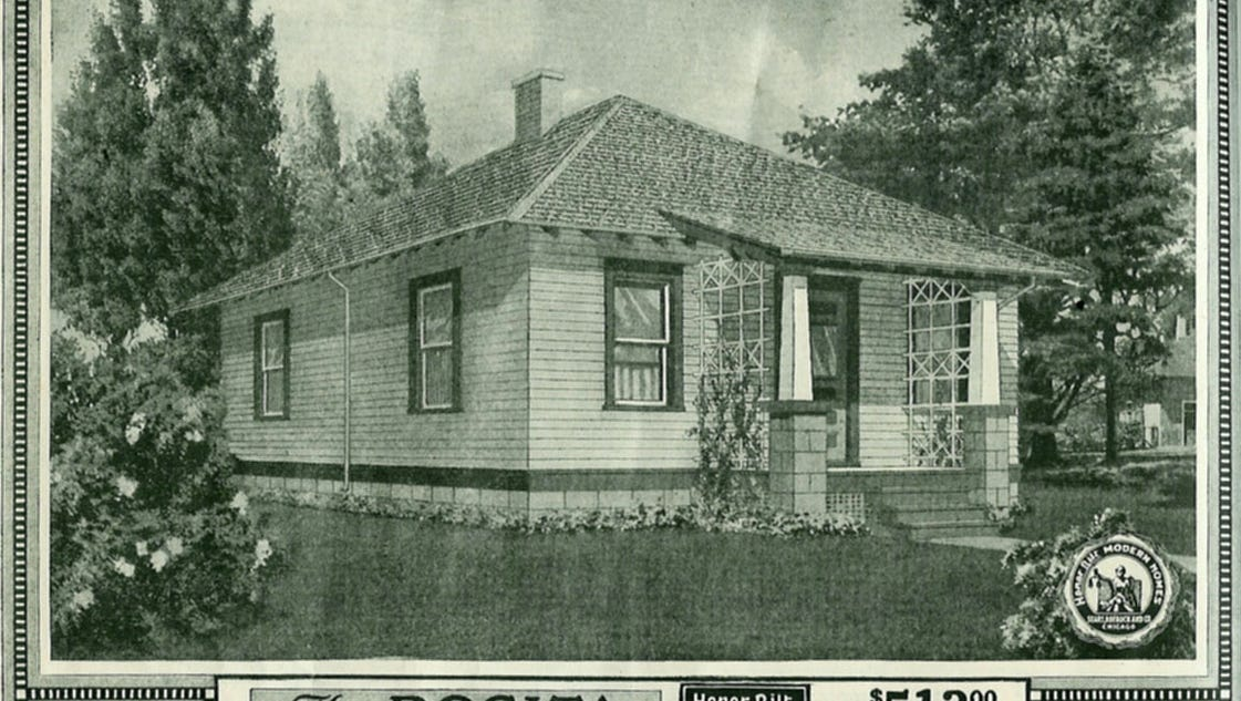Remember When Sears Sold Mail Order Homes