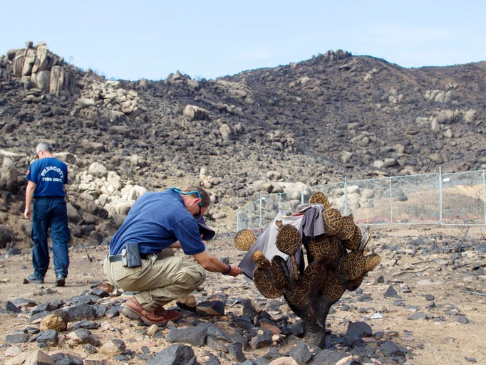 Granite Mountain Hot Shots : Yarnell hill fire where hotshots died