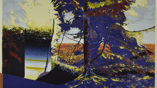A comprehensive compilation of works by Larry Basky, a nationally-recognized printmaker, will be on display at the Plymouth Arts Center beginning Oct. 14.