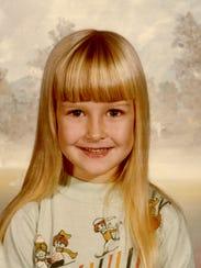 Brandy Hall at age 5