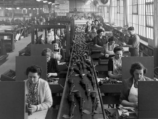 WWII production line