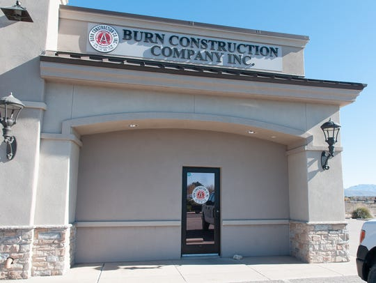 Pictured is the exterior of Burn Construction Company.