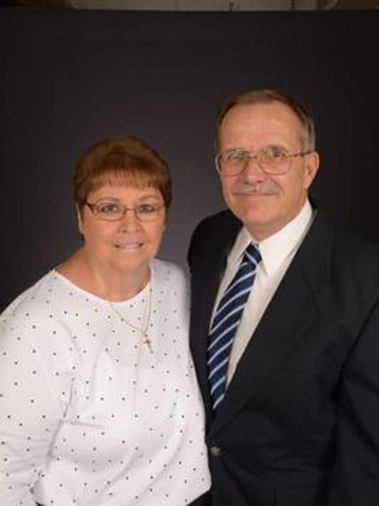Anniversaries: John (Fankhauser) Harris & Diana Harris