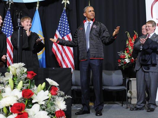 President Obama visit to Watertown