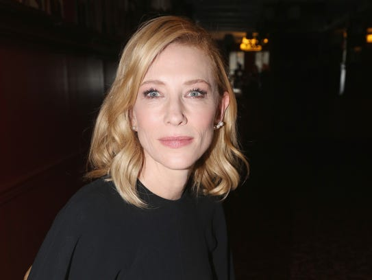 Cate Blanchett is nominated for her work in 'The Present.'