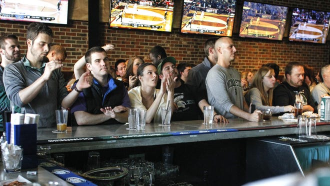 The former Peppino's Pizzeria and Sports Grille, now renamed the FieldHouse, is a favorite game-day gathering spot in East Lansing.