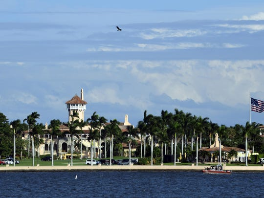 This Nov. 21, 2018, file photo shows President Donald Trump's Mar-a-Lago estate in Palm Beach, Fla. A pastry chef is suing Mar-a-Lago club in Florida, alleging he was laid off in retaliation for trying to stop managers from sexually harassing women in the kitchen.