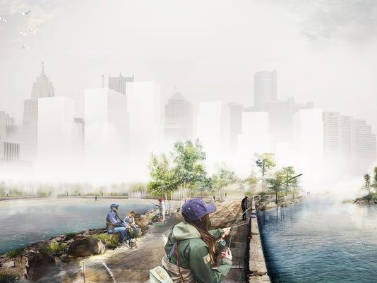 West Riverfront concept