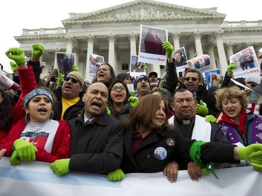 AP CONGRESS IMMIGRATION A FILE USA DC
