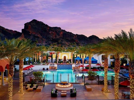 Kasbah pool at Omni Scottsdale Resort & Spa at Montelucia