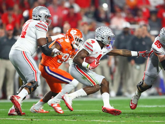 Curtis Samuel is probably a second-round level pick,