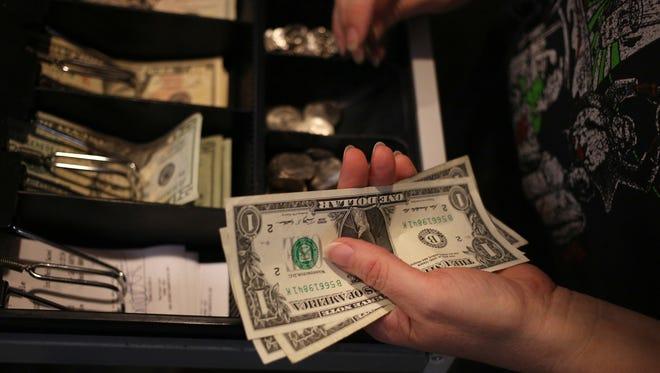 Cash register file photo