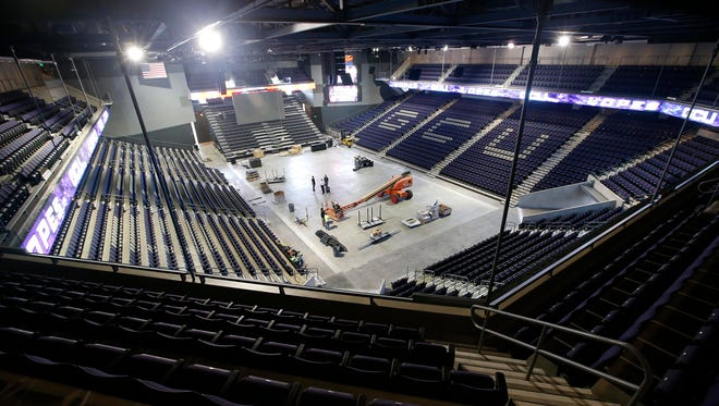 Grand Canyon University Arena added 2,000 seats and was completed a month earlier than scheduled and under budget, according to GCU President and CEO Brian Mueller.