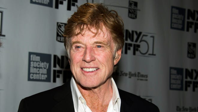 Robert Redford at the New York Film Festival screening of 'All Is Lost.'
