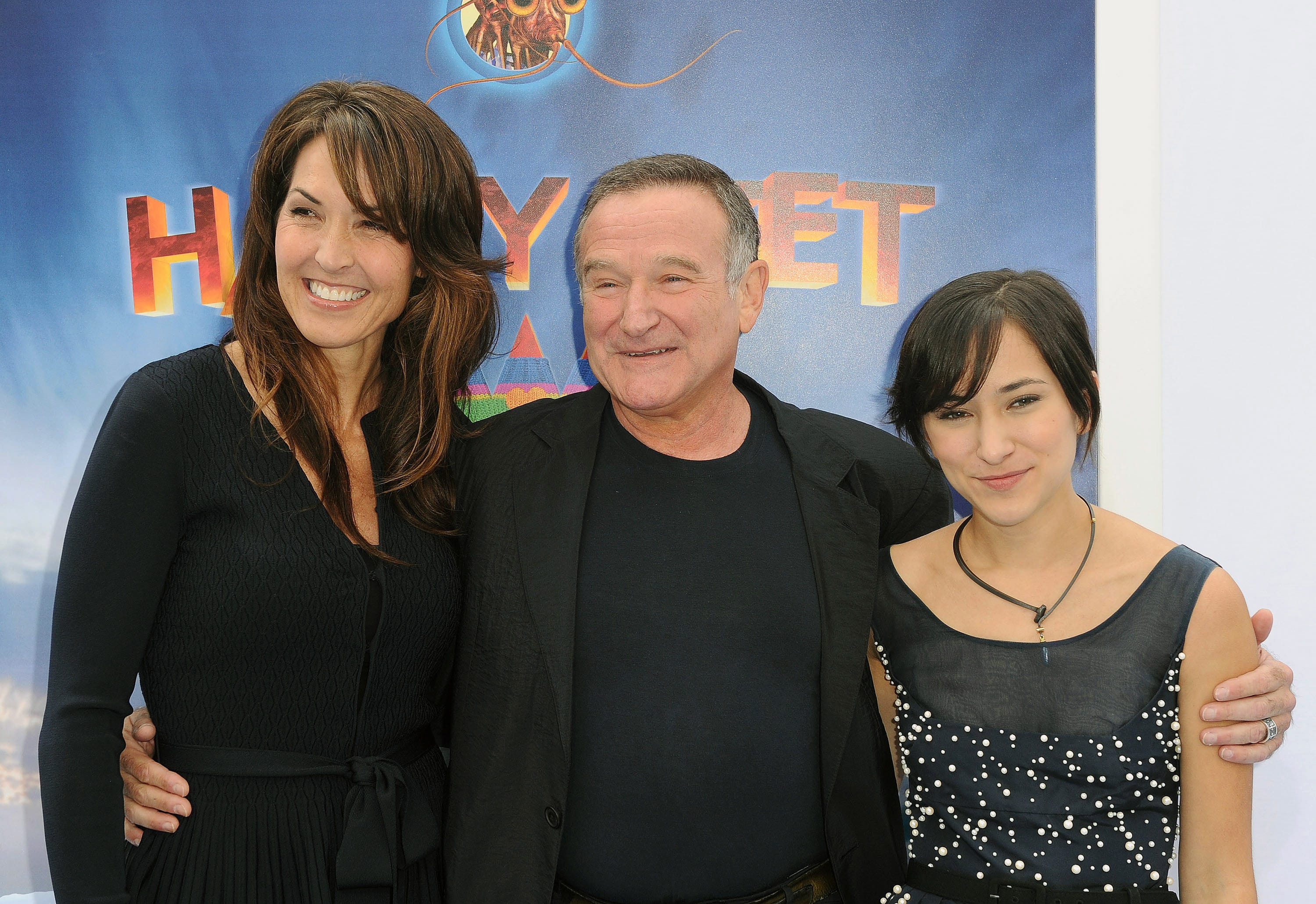 Pictures robin williams of and family