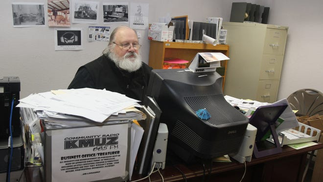 Dave Hammock is the administrative coordinator at KMUZ, the Mid-Valley's community radio station.