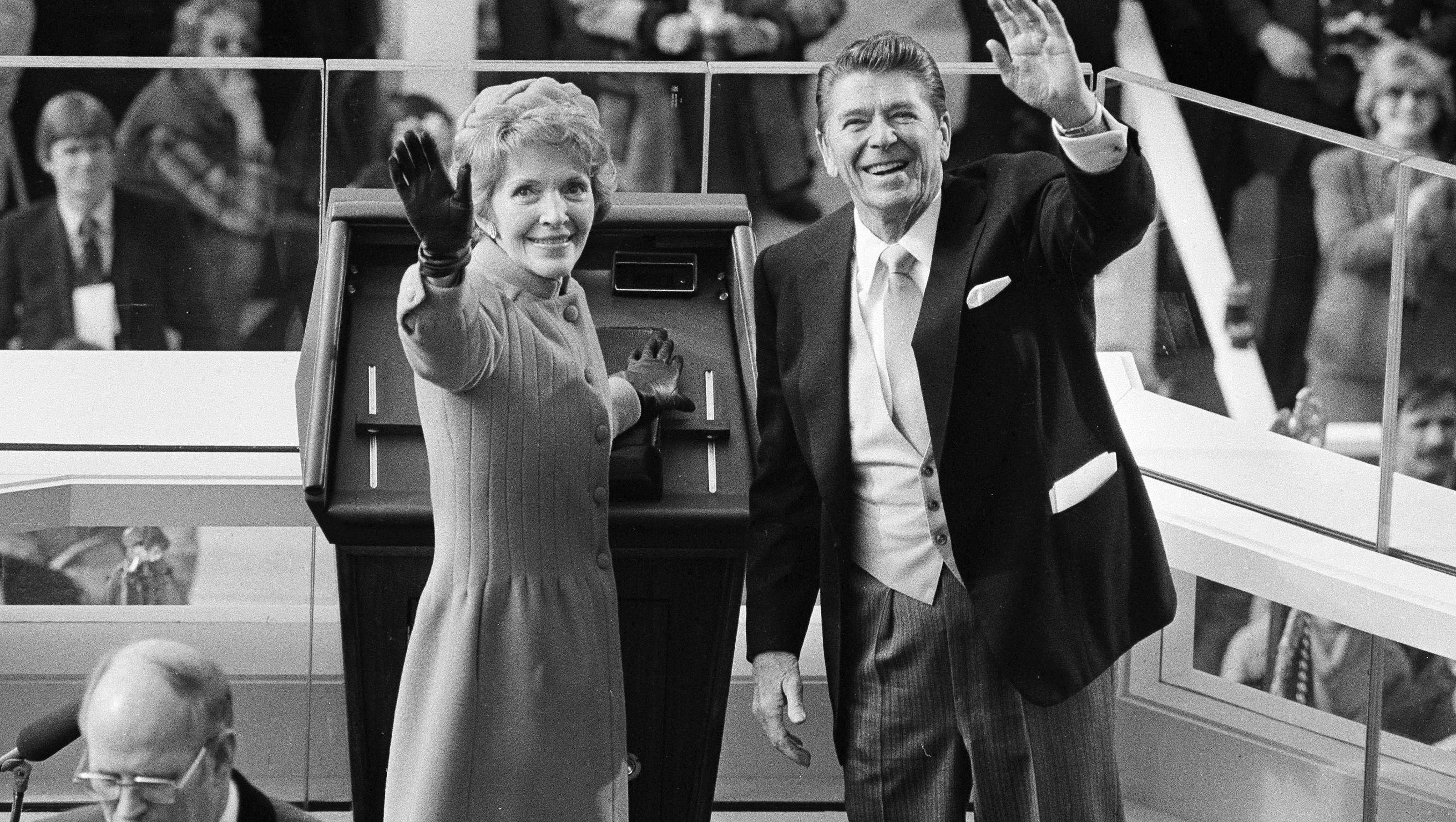 Nancy Reagan s mission was backing Ronnie