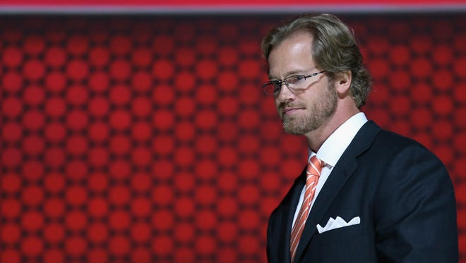 Chris Pronger is now working for the NHL's department of player safety.