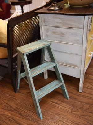 Chalk paint can give items an aged, distressed look.