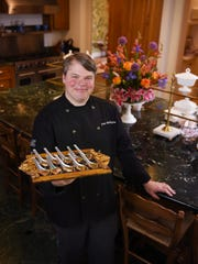 """Mangia Bene Catering Manager Aven Whittington likes to support """"local chefs that concentrate on honest, from-scratch food."""""""