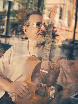 David Bromberg at Merchant Bar in Wilmington last week. His new album, the 18th of his career, includes covers of blues songs by artists such as Robert Johnson, Ray Charles and Sonny Boy Williamson.