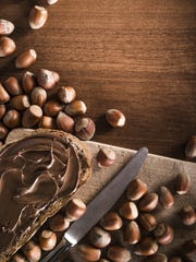 Hazelnuts can be easily made into nut butter.