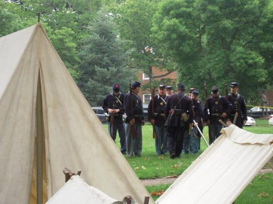 A Day in Old New Castle on Saturday takes a Civil War theme, in recognition of the 150th anniversary of the end of the war.