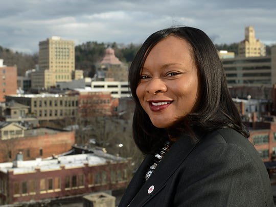 Former Asheville mayor Terry Bellamy has joined the