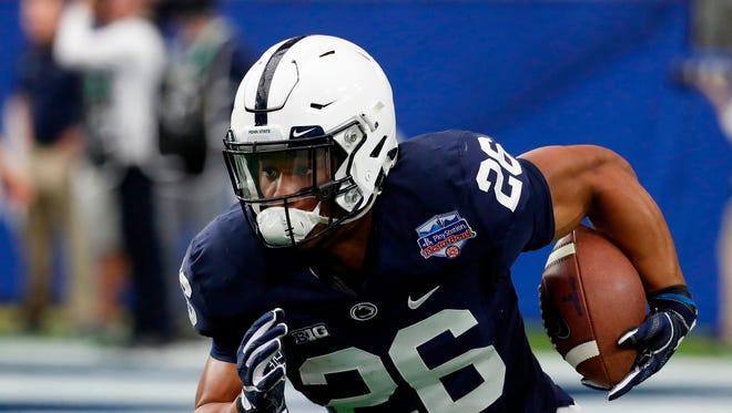 Penn State running back Saquon Barkley