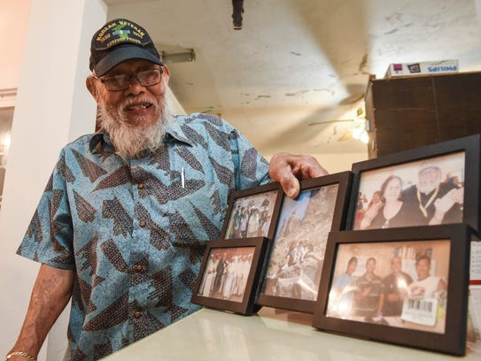 Korean War veteran and retired Guam police officer