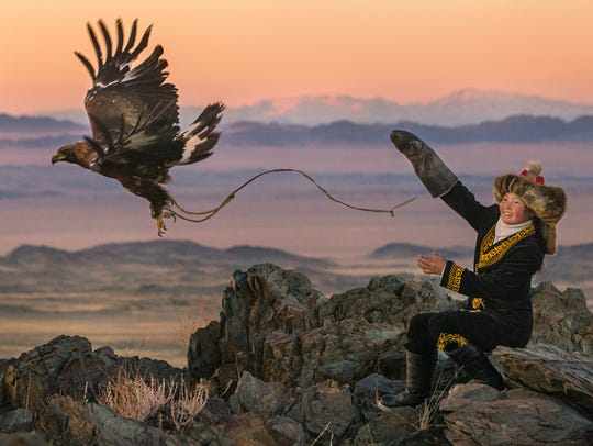 Girl power soars in 'The Eagle Huntress,' which follows