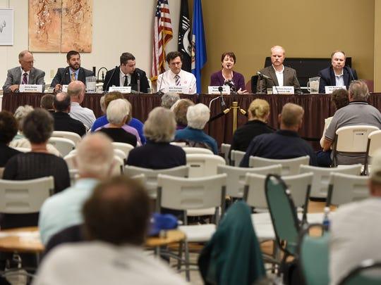 Candidates in Minnesota Legislative District 14 answer
