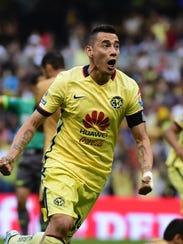 Rubens Sambueza, atacante americanista.