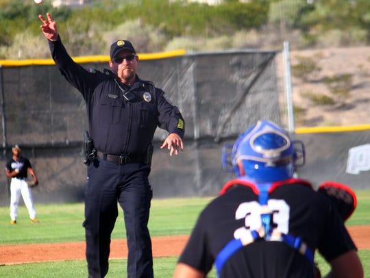 Alamogordo Police Department's Chief of Police, Daron