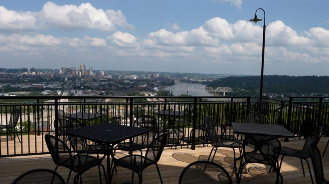 Built on the top of Price Hill, Incline Public House has open views of Downtown, Kentucky and up the Mill Creek Valley.