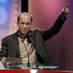 "Ira Sachs wins the dramatic grand jury award for ""Forty Shades of Blue"" at the 2005 Sundance Film Festival."