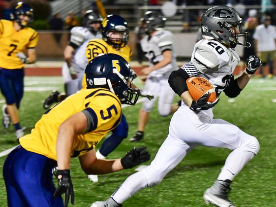 South Lyon East's Jake Waranauckas was named to the All-Lakes Valley Football Team.