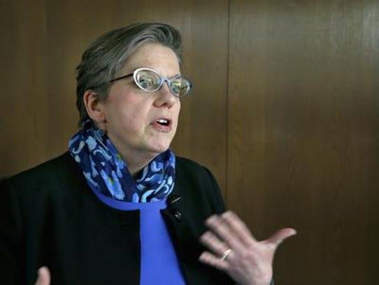 Monroe Community College President Anne Kress.