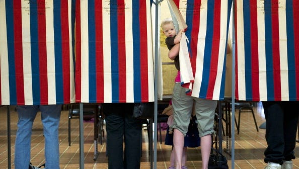 Valley YMCAs are offering free child care on Election Day.
