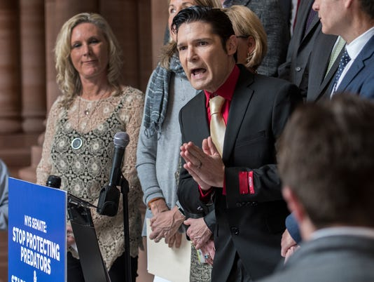 AP CHILD SEX CRIMES COREY FELDMAN A ENT USA NY
