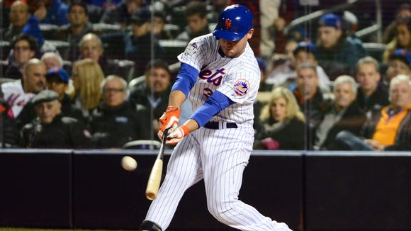 Michael Conforto, who hit two homers in the 2015 World Series as a rookie with the New York Mets, was a three-time All-American outfielder at Oregon State.