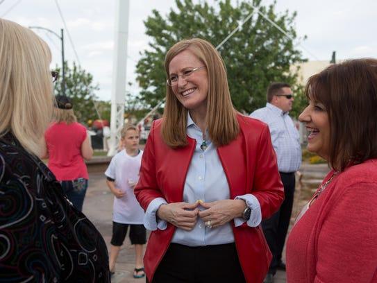 Christine jones to run for matt salmon 39 s seat in congress for Christine kolar