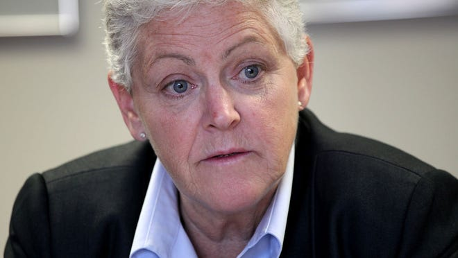 Gina McCarthy, administrator of Environmental Protection Agency, said the auto industry improved fuel economy to an average of 24.1 miles pert gallon in the 2013 model year, up 0.5 m.p.g. from 2012.