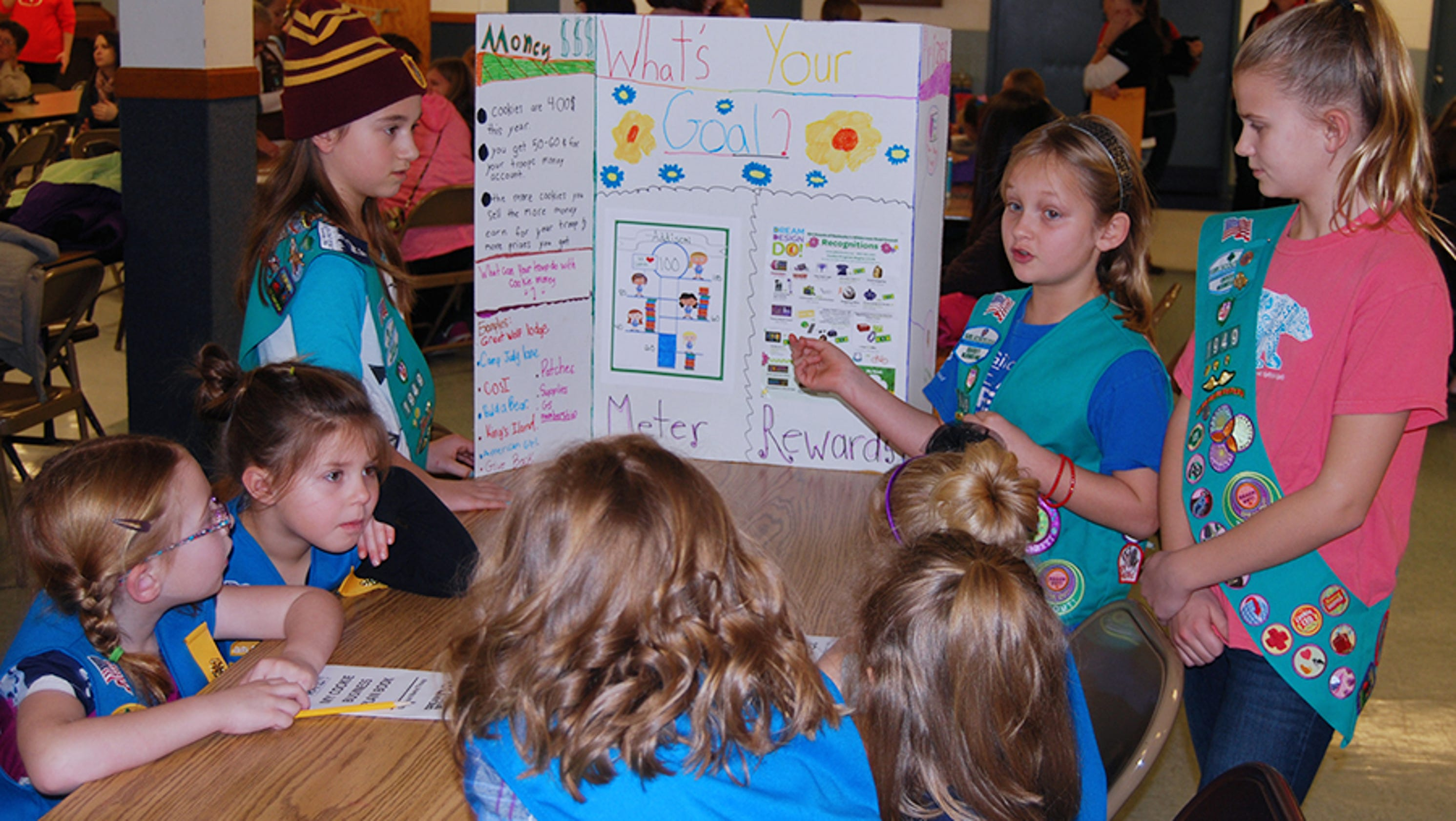 alexandria girl scouts talk cookie strategy