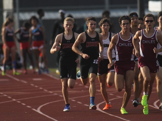 Region 3-3A track meet at Chiles, April 27, 2017.