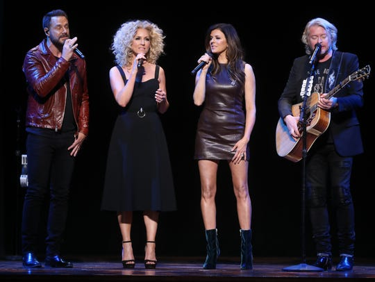 Little Big Town performs at the 2018 Symphony Fashion