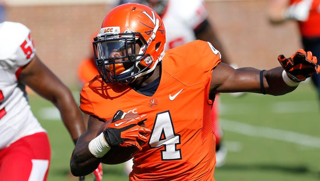 Virginia would be wise to build pieces of its offense around the rare talents of running back Taquan Mizzell.